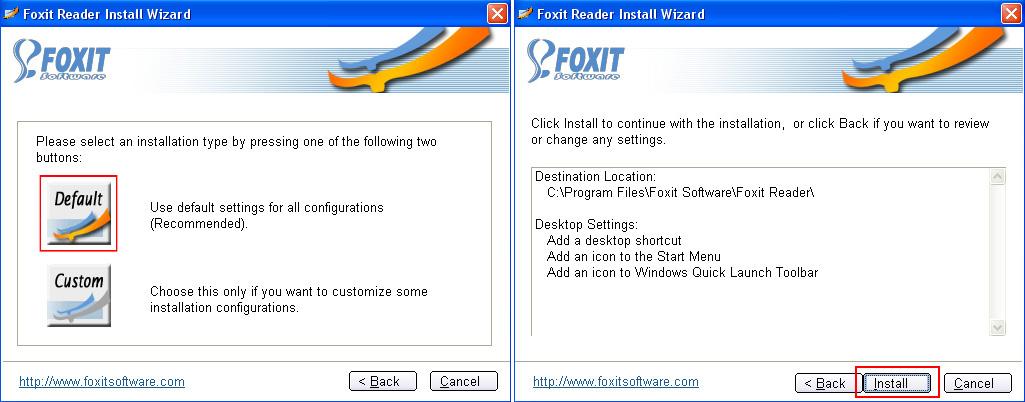 how to make foxit reader default pdf reader